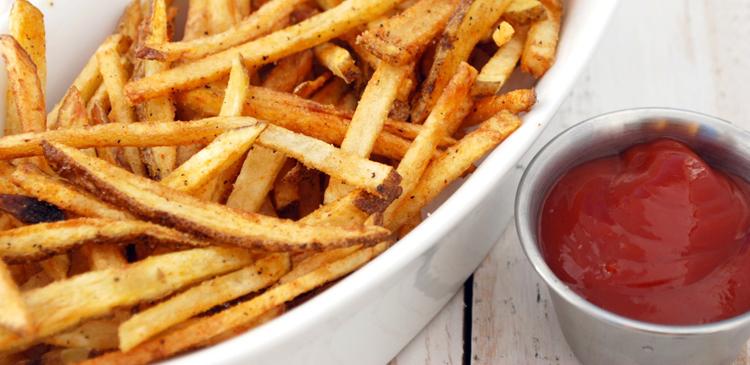 Картошку фри замените вареным картофелем