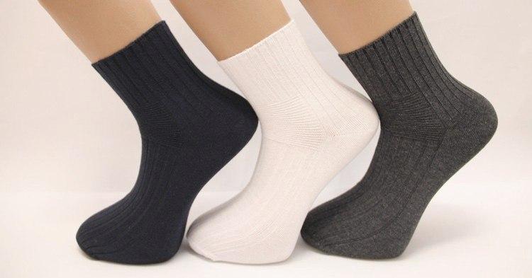 Выбор специальных носков при диабете