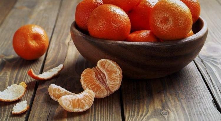 Мандарины и мандариновые корки