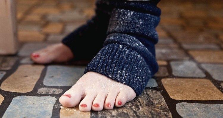 Диабетику опасно ходить босиком