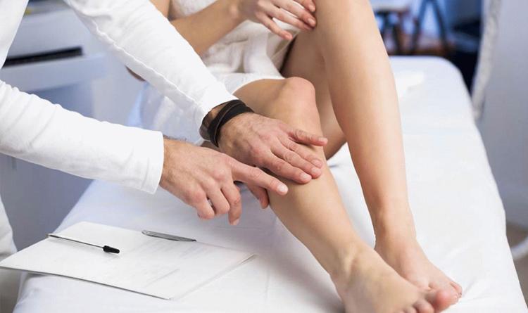 Пятна на ногах у диабетика